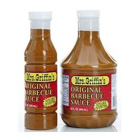 Mrs Griffin Regular BBQ Sauce 32oz