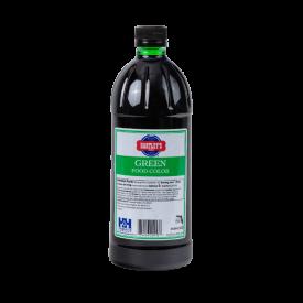 Hartley's Green Food Color 32 oz 6-bottles