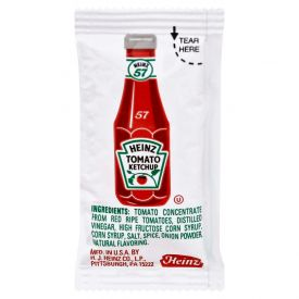 Heinz Tomato Ketchup Individual Packets 9gm