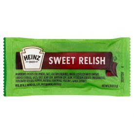 Heinz Sweet Relish Single Serve Packet 9 gm