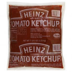 Heinz Pouch Pack Fancy Ketchup 114oz