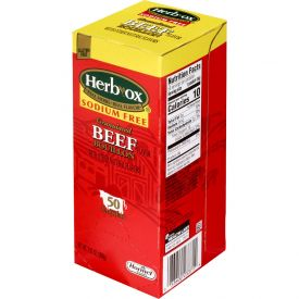 Herb-Ox Sodium Free Instant Beef Broth Single Serve