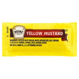 Heinz Yellow Mustard - .2oz.