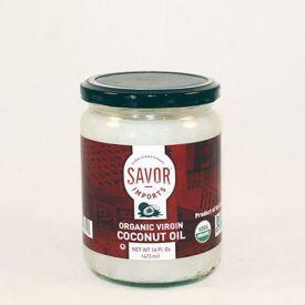 Savor Organic Virgin Coconut Oil 1 Gallon