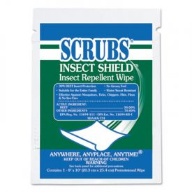 Scrubs Insect Shield Repellent Wipes