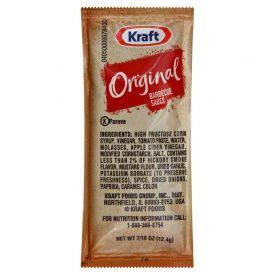 Kraft Original Barbecue Sauce Cup - 12.4gm