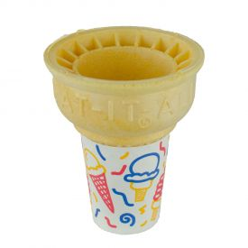 Eat it All Jacketed Cake Cones 34DJ