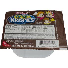 Kelloggs Cocoa Krispies Cereal Bowls 1.12oz