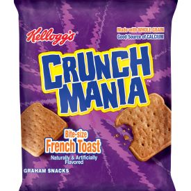 Kelloggs Crunchmania Bite Size French Toast 1.76oz