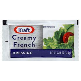 Kraft Creamy French Dressing Packet - 12.4gm