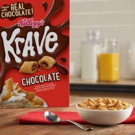 Kellogg's Krave Chocolate Cereal Bulk Pack 35oz