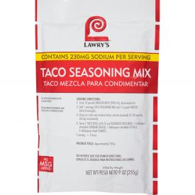 Lawry's Southwest Taco Mix 9oz