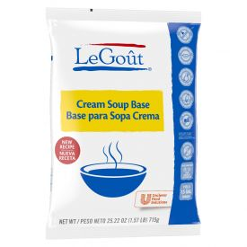Legout Bases/Bouillions Cream Soup Base, 25.22 oz