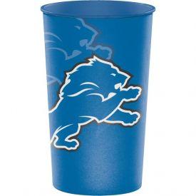 NFL Detroit Lions 22 oz Plastic Souvenir Cups