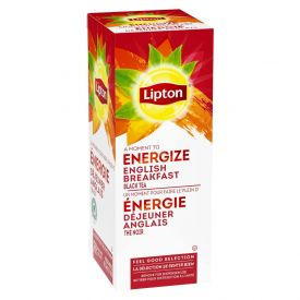 Lipton English Breakfast Individual Tea Bags