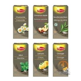 Lipton Herbal Tea Variety Pack Individual Tea Bags