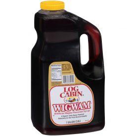 Log Cabin Wigwam Syrup 128oz.