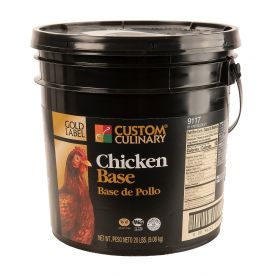 Custom Culinary Gold Label Chicken Base - 20lb