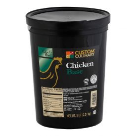 Custom Culinary Chef's Own No MSG Chicken Base Paste - 5lb