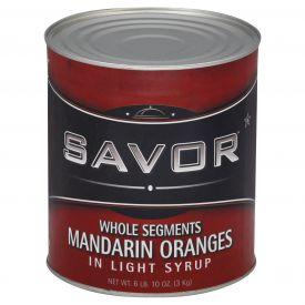 Savor Whole Mandarin Oranges #10