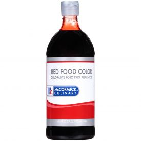 McCormick Red Food Color 32oz.
