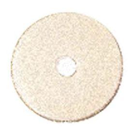 3M TopLine Burnishing Floor Pads 3200, 27-Inch, White/Amber