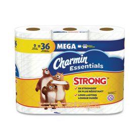 Charmin Essentials Strong Mega Rolls 1-Ply