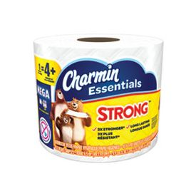 Charmin Essentials Individually Wrapped Strong Mega Rolls 1-Ply