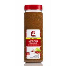 Lawry's Salt Free Mexican Seasoning 6/20.75oz