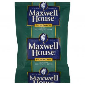 Maxwell House Office Pack Decaf Coffee with Filter 1.3oz