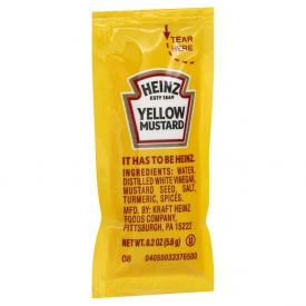 Heinz Yellow Mild Mustard - 5.5gm
