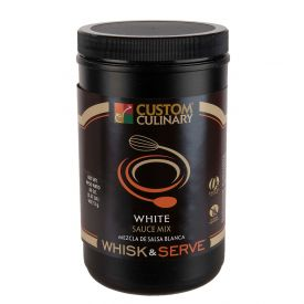 Custom Culinary Whisk & Serve White Mix Sauce - 38oz