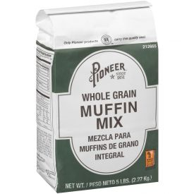 Pioneer Whole Grain Muffin Mix 5lb.