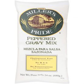 Miller's Pride Peppered Biscuit Gravy Mix - 24oz