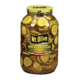 Mt Olive Bread & Butter Old Fashion Pickles 1 gallon