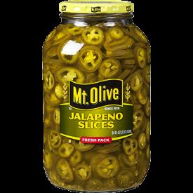 Mt Olive Sliced Jalapenos 1 gallon
