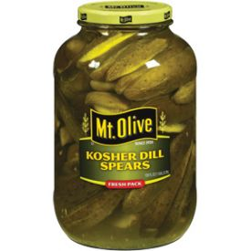Mt Olive Kosher Dills Spears 1 gallon