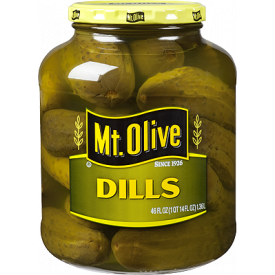 Mt Olive 28/32 Whole Dills 1 gallon