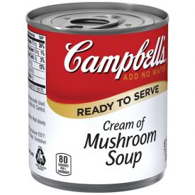 Campbell's Ready to Serve Cream of Mushroom Soup 7.25 oz.