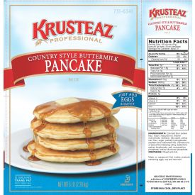 Krusteaz Country Style Buttermilk Pancake Mix 5lb.