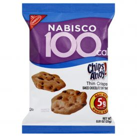 Nabisco Chips A'hoy 100 Calorie Packs .81oz