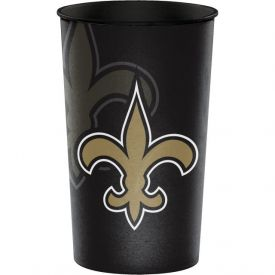 NFL New Orleans Saints Rigid Plastic Souvenir Cups 22 oz.