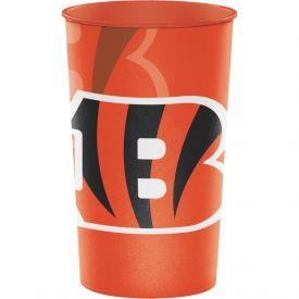 NFL Cincinnati Bengals Rigid Plastic Souvenir Cups 22 oz.