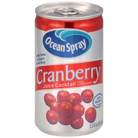 Ocean Spray Cranberry Juice 5.5oz