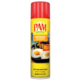 Pam Butter Spray Food Release 17oz