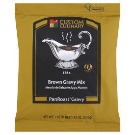 Custom Culinary Panroast Brown Gravy Mix 12oz