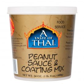 A Taste of Thai Peanut Sauce Mix 24oz.