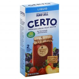 Certo Liquid Fruit Pectin 6oz