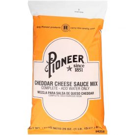 Pioneer Cheddar Cheese Sauce Mix 29oz.