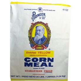 Pioneer ® Enriched Yellow Corn Meal 25lb.